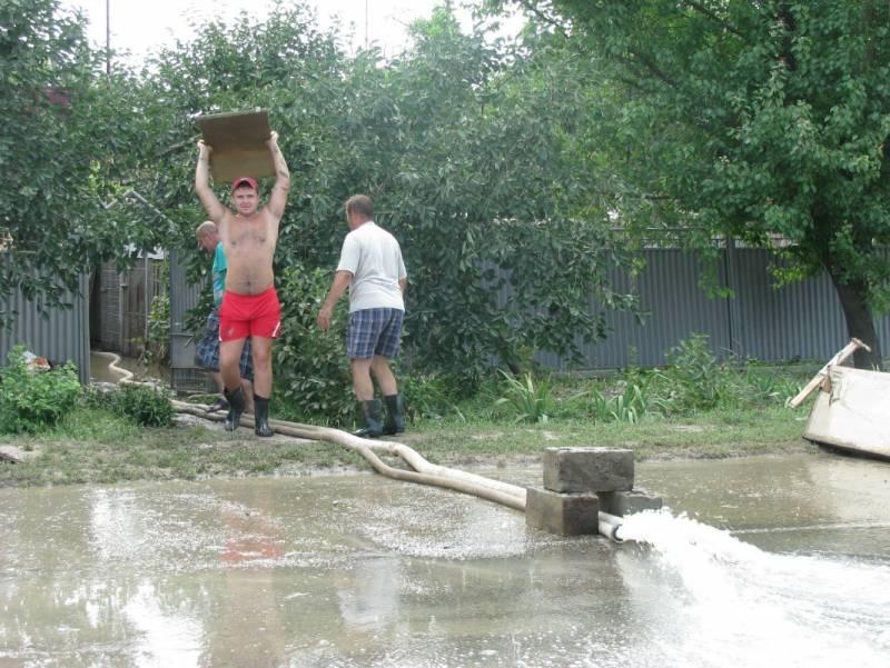 Кубанское наводнение станет причиной оползней и просадки грунта