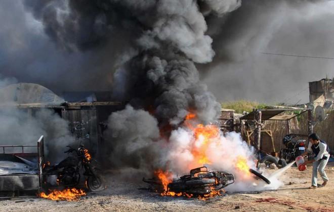 Территория Израиля оказалась обстрелянной со стороны сектора Газа