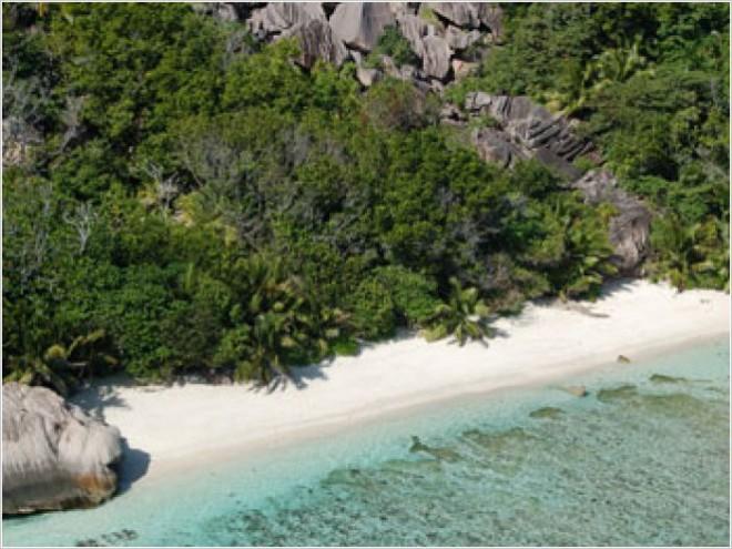 Сейшельские острова. Источник Anse D'Argent.