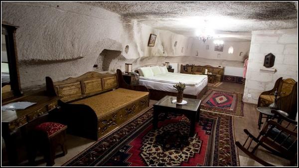 пещерная гостиница Гамирасу