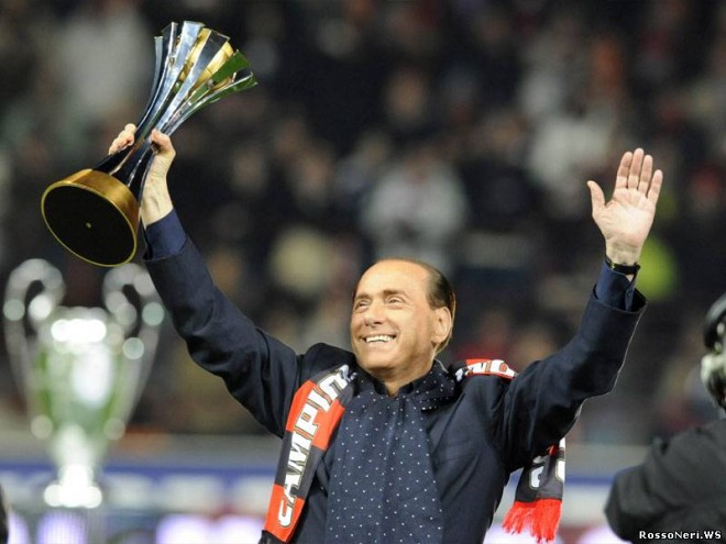 Берлускони: Я бы продал Милан не замедленно.