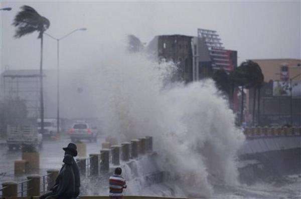 """Тайфун """"Джелават"""" приближается к столицы Японии."""