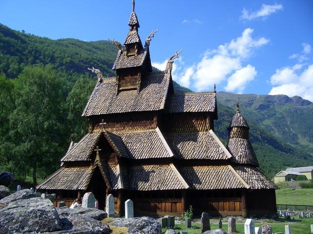 церковь Боргунд