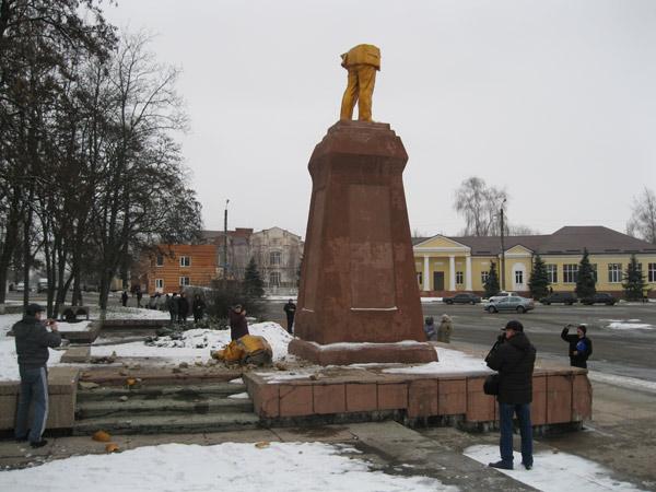 Сколько простоит новый памятник Ленина в Ахтырке