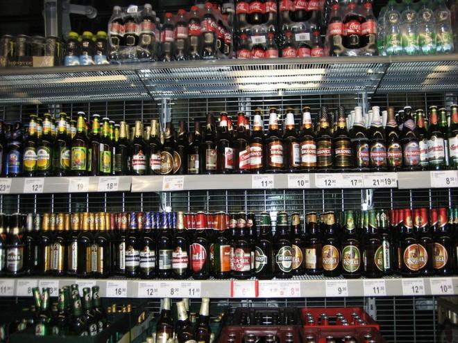Украина занимает второе место в Европе по количеству смертей от алкоголя