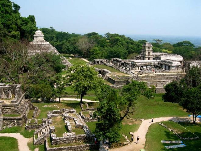 Экскурсия по руинам Майя