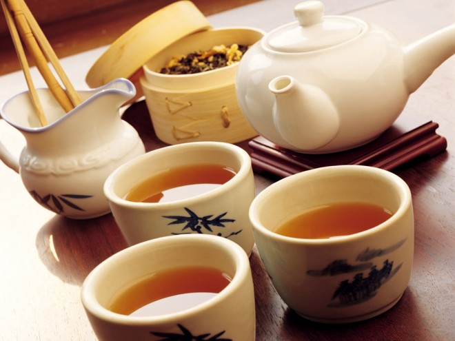 Зеленый чай улучшает  память.