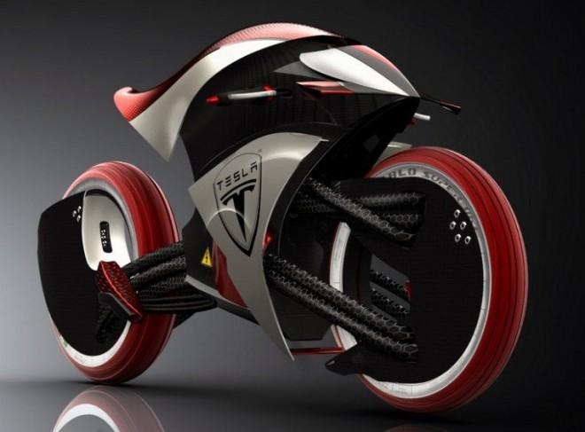 Tesla Motors электроцикла E-Max