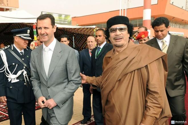 Сирию травят химическим оружием Муамара Каддафи