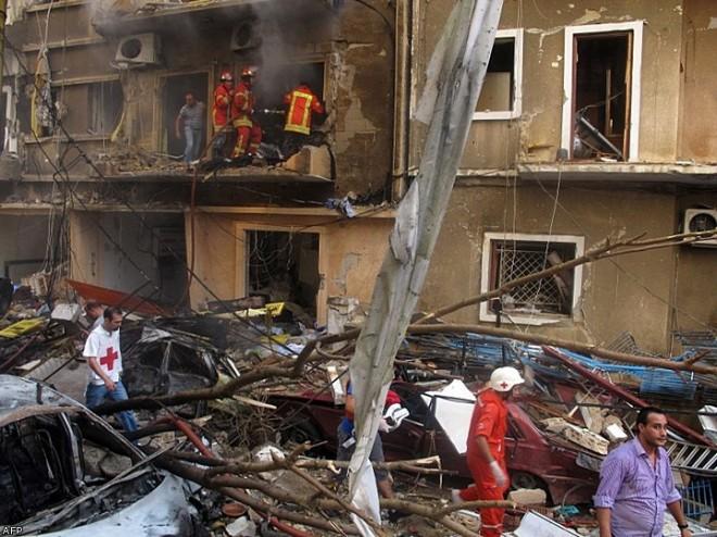 Взрыв в центре Бейрута