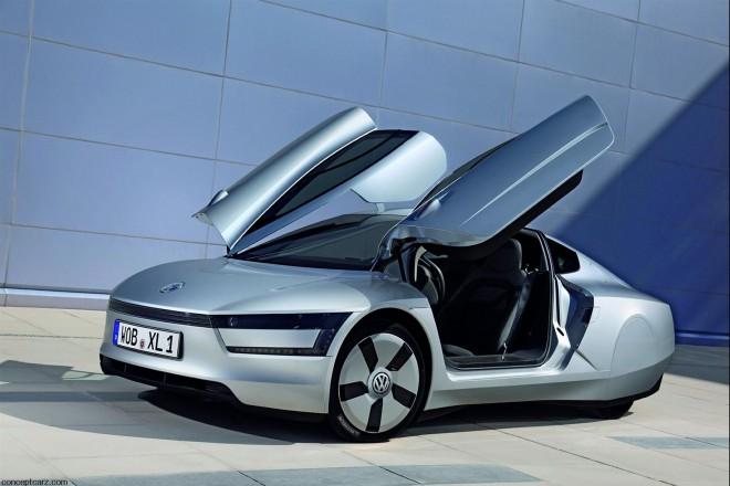Самый экономичный автомобиль в мире Volkswagen XL1