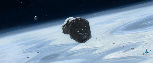 NASA  захватить астероид, чтобы построить в космосе заправку
