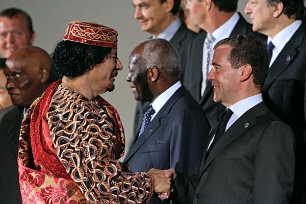 Имидж России будут создавать специалисты, работавшие на Муамара Каддафи