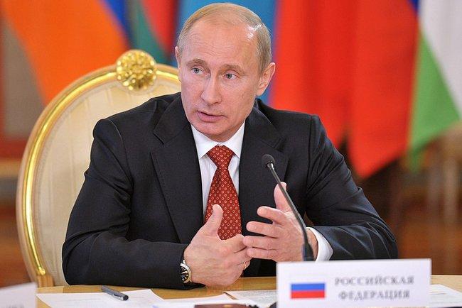 Владимир Путин в Финляндии внесен в список преступников.