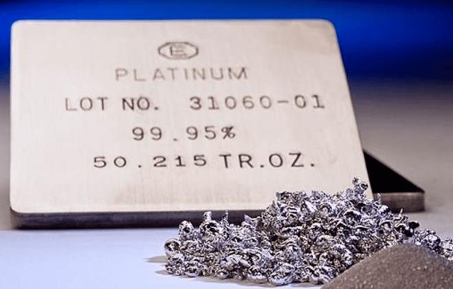 Металлы: спрос на Платину