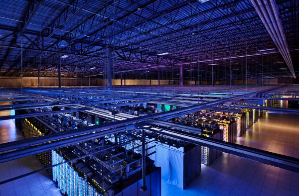 Google показал, где живет Интернет