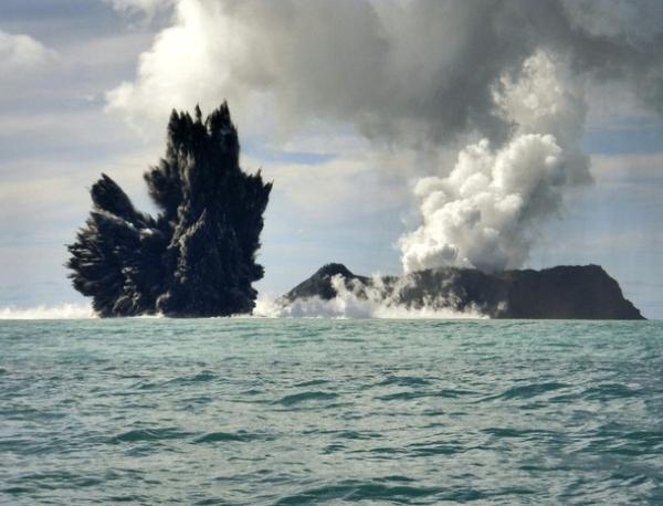 Самый большой вулкан обнаружен в пучине Тихого океана