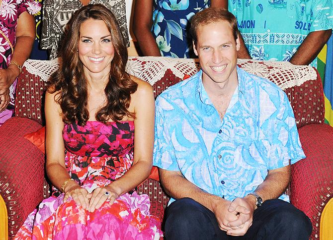 Принц Уильям своим нарядом обидел Жителей Соломоновых островов.