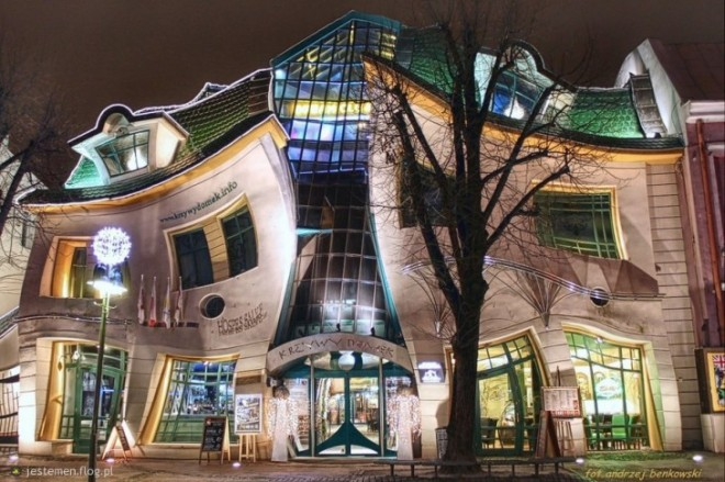 В китайском городе Хуйнань расположен Музыкальный дом.