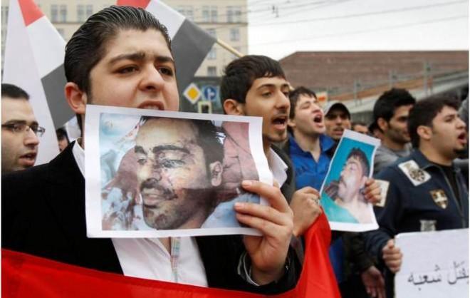 Сирийский протесты