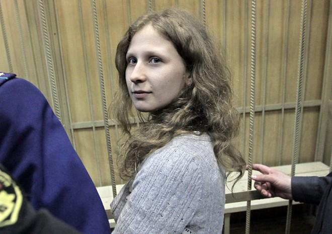 Участница Pussy Riot Мария Алехина опустила свой шанс выйти на свободу