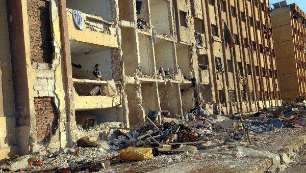 Очередной теракт в Сирии, во время сдачи экзамена погибло 82 студента, около 200 ранены.
