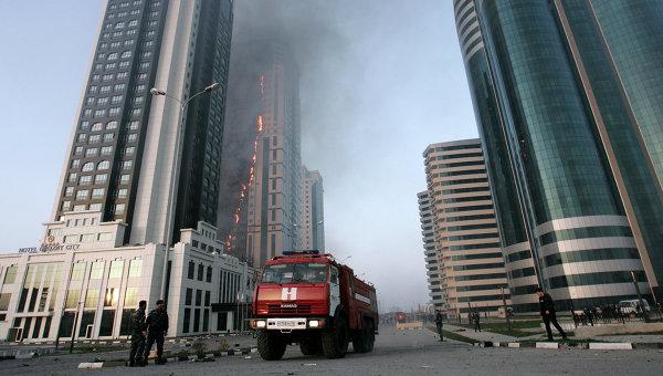 Из-за пожара в «Грозный-Сити» Жерар Депардье остался без квартиры