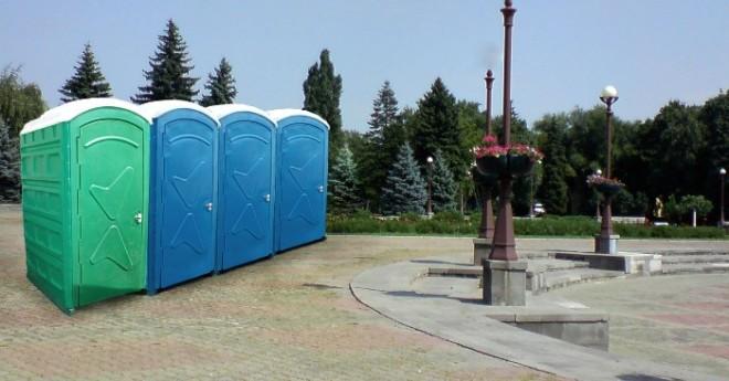 Мобильная туалетная кабинка