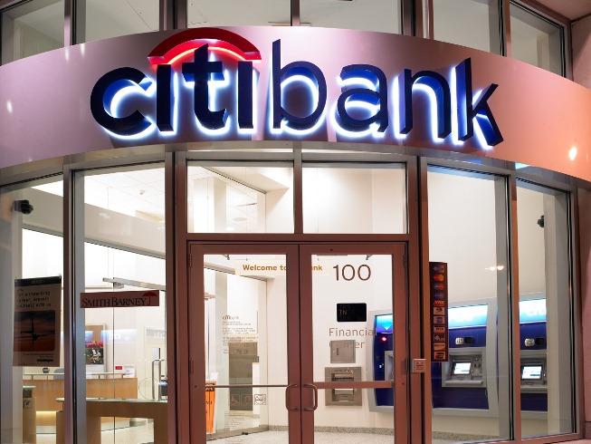 Офис Ситибанка в США