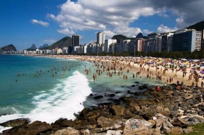 Пляж в Сан-Паулу