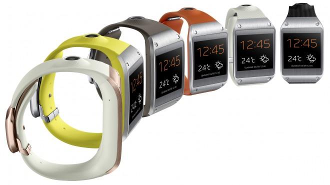 «умные часы» Galaxy Gear.
