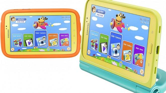 Samsung презентовал детский планшет