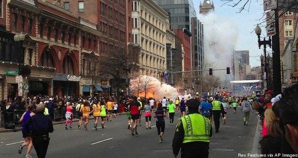 Теракт в Бостоне: всеобщая паника и уверенный Барак Обама.