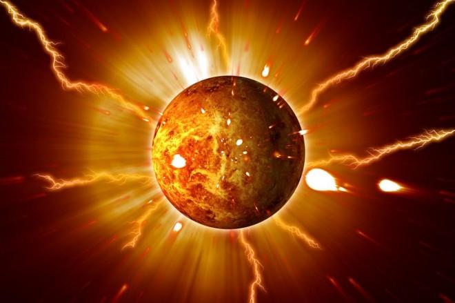 13-14 апреля Землю накроет мощная магнитная буря.