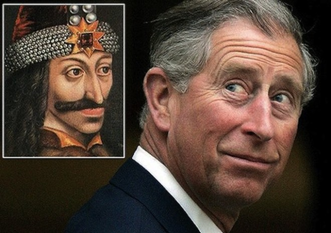 Британский принц Чарльз – потомок князя Дракулы!