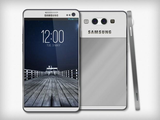 Новый смартфон от Samsung будет работать от взгляда