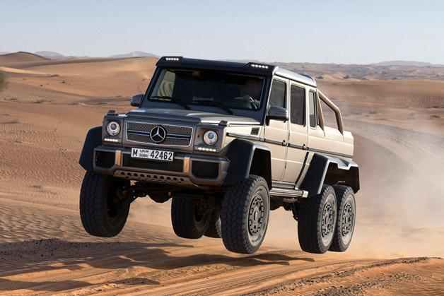 Полмиллиона евро за шестиколесный внедорожник G 63 AMG.