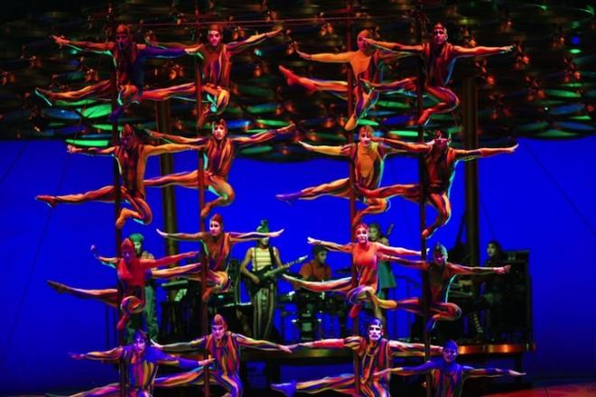Украина готовится принять знаменитый цирк Cirque du Soleil с новой шоу-программой «Alegria»