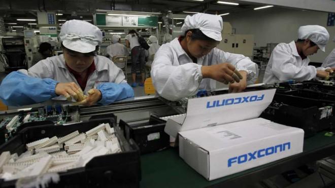 работа на заводе Foxconn