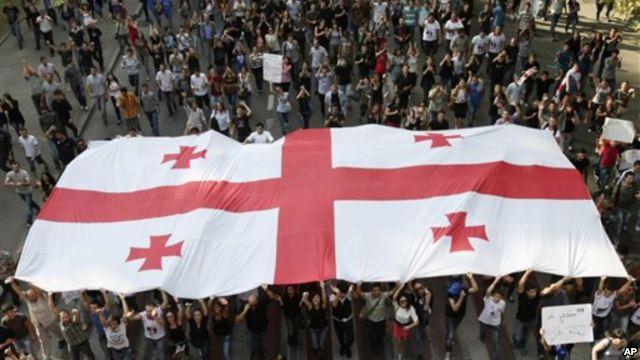 Грузия выборы 2012