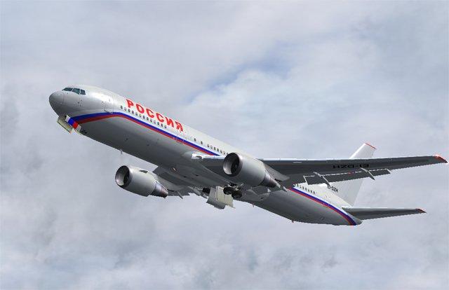 Авиалайнер с российскими туристами, ели разминулся с истребителем НАТО.