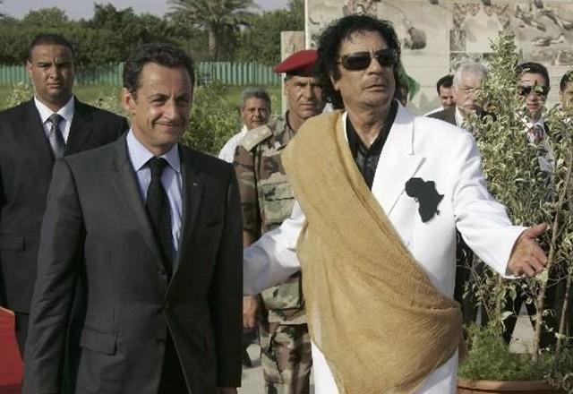 Каддафи, смерть с согласия Саркози