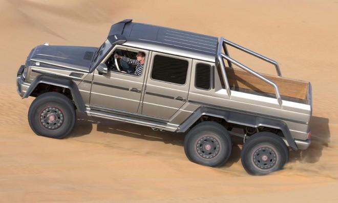 Зачем Mercedes-Benz запускает производство 6-колесного джипа
