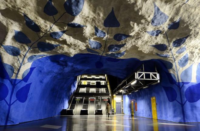 Самые необычные и прекрасные станции метро