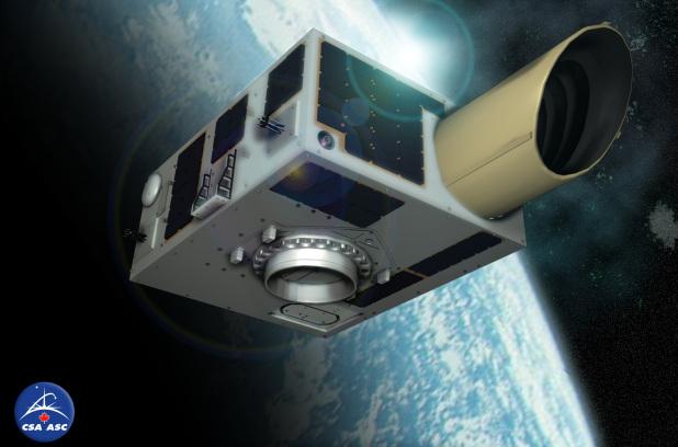 Канала запустила первый в мире телескоп, который будет отслеживать полеты  астероидов.