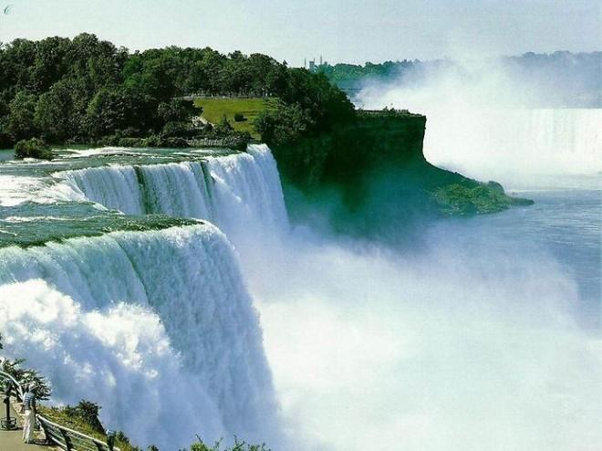 Подборка интересных фактов о Ниагарском водопаде