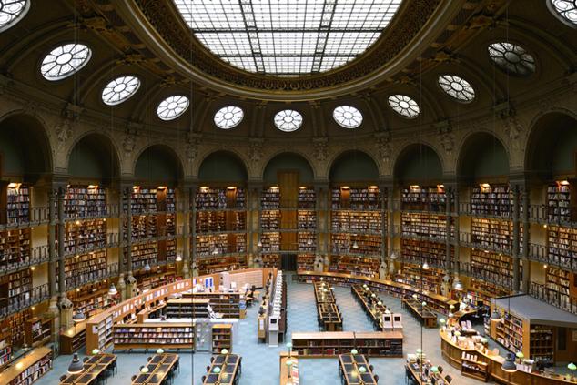 Современная библиотека картинки