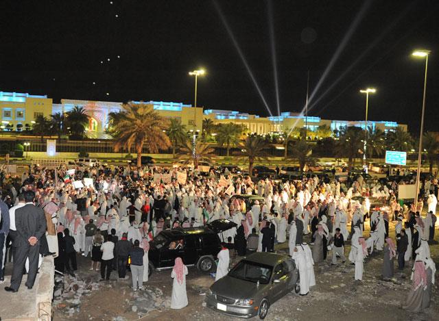 В Кувейте полиция разогнала протестующих слезоточивым газом и резиновыми пулями