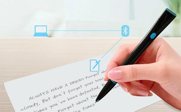 Recorder Pen:  новый гаджет на основе обычной ручки.
