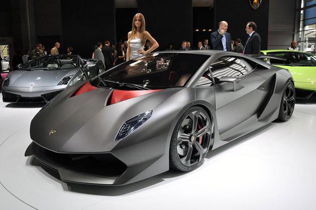 Lamborghini удивит Женеву самым дорогим суперкаром